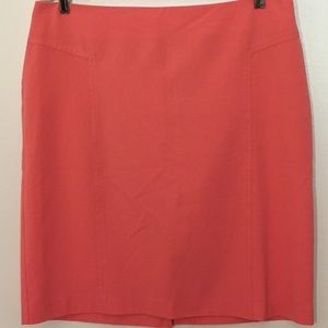 New York and company pink women's skirt size 14